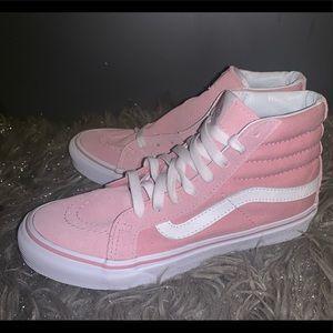 NEW Vans Ak8 Hi Slim Pink Womens SZ 5